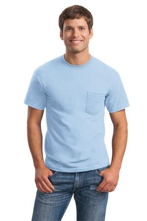 ; Gildan Ultra Cotton  100% Cotton T Shirt with Pocket. 2300