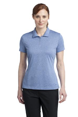 Nike Golf Ladies Dri FIT Heather Polo. 474455