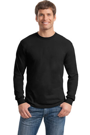 ; Gildan Heavy Cotton 100% Cotton Long Sleeve T Shirt. 5400