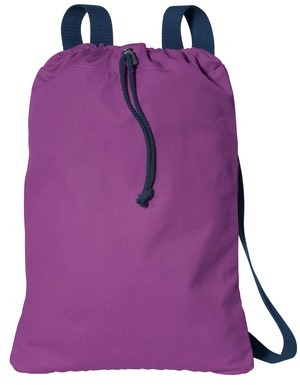 Port Authority; Canvas Cinch Pack. B119