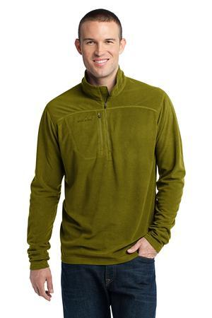 Eddie Bauer; 1/4 Zip Grid Fleece Pullover. EB220