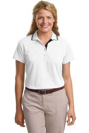 Port Authority; Ladies Rapid Dry Polo with Contrast Trim. L456