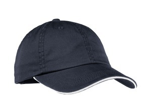 ; Port Authority; Ladies Sandwich Bill Cap with Striped Closure. LC830