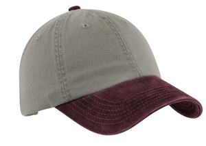 ; Port Authority; Two Tone Garment Washed Cap. PWTTU