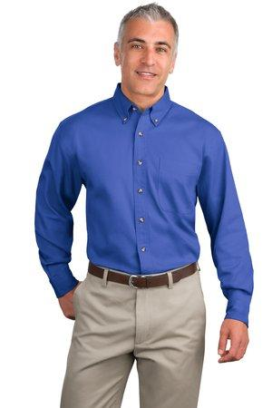 Port Authority; Long Sleeve Twill Shirt. S600T