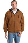; CornerStone; Heavyweight Full Zip Hooded Sweatshirt with Thermal Lining. CS620