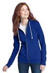 District; Juniors Core Fleece Full Zip Hoodie. DT290