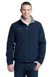 Eddie Bauer; Fleece Lined Jacket. EB520
