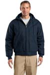 ; CornerStone; Duck Cloth Hooded Work Jacket. J763H