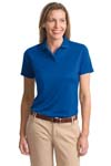Port Authority; Ladies Poly Bamboo Blend Pique Polo. L497