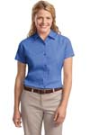 Port Authority; Ladies Short Sleeve Easy Care Shirt. L508
