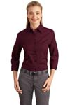 ; Port Authority; Ladies 3/4 Sleeve Easy Care Shirt. L612