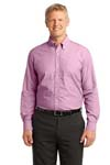 Port Authority; Crosshatch Easy Care Shirt. S640