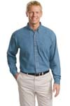 Port Authority; Tall Long Sleeve Denim Shirt. TLS600